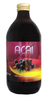 ACAI BERRY pyré Bio 500 ml